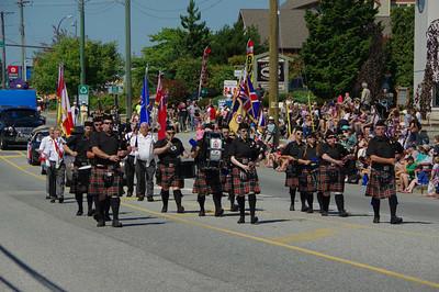 Gibsons Sea Cavalcade Parade 2014