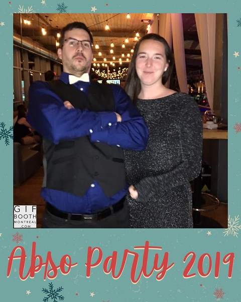 GifBoothMontreal.com | Absolunet party 2019