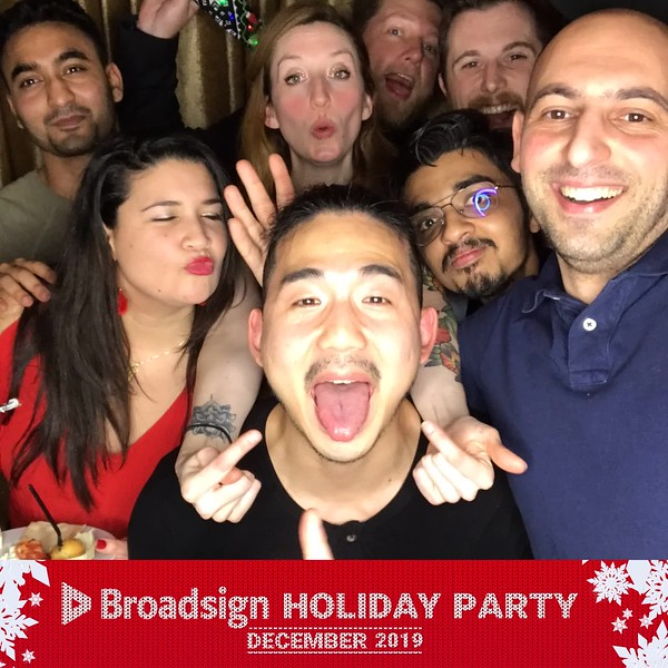 GifBoothMontreal.com | Broadsign Holiday Party 2019