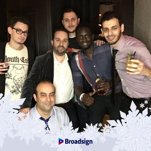 GGifBoothMontreal.com | Broadsigns | Christmas party 2018