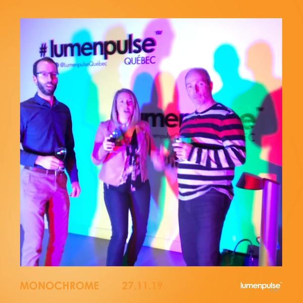 GifBoothMontreal.com | Lumenpulse Monochrome