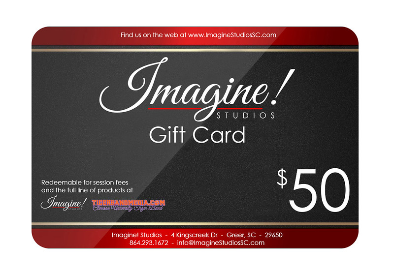 Imagine! Gift Card 50 example
