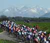 The Tour de Romandie in the Swiss Alps