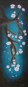 """Cherry Blossom"" Painting"