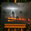"""Photo Giclee Print on Fine Art Canvas.  Any of my images can be printed on cavas. Pictured here is """"The Ultimate Strike"""" @ 24"""" X 32"""" photo giclee (photo printed on canvas).  Email me with your desired size for a custom quote at Liane@lianeslightroom.com. Any size available up to 40""""X60""""."""
