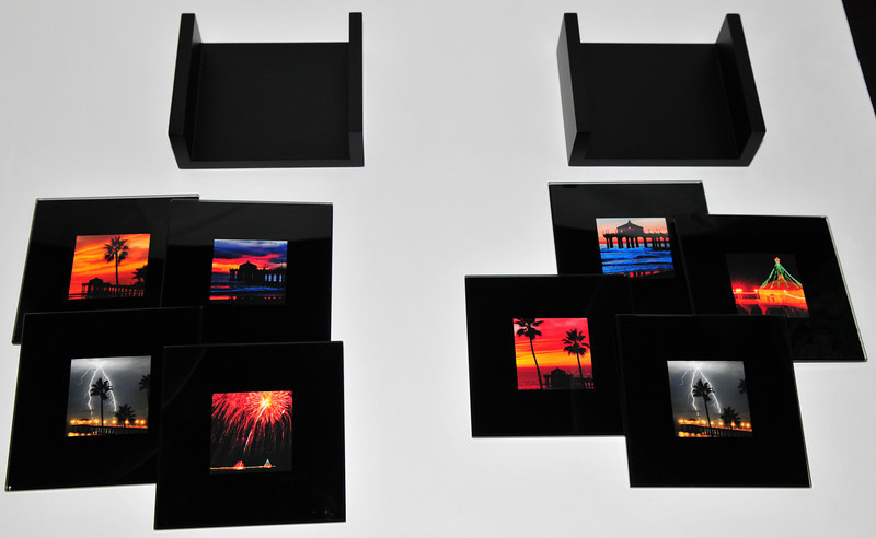 Glass Photo Coasters.  Any of my images can be incorporated into these glass photo coasters. <br /> SOLD OUT!