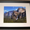 """Springtime Yosemite"".  11"" X 14"" photo print with a white mat & black frame."