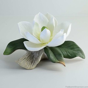 The Boehm Porcelain Magnolia