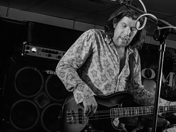 Kevin Oliver Jones with Hats Off T Led Zeppelin