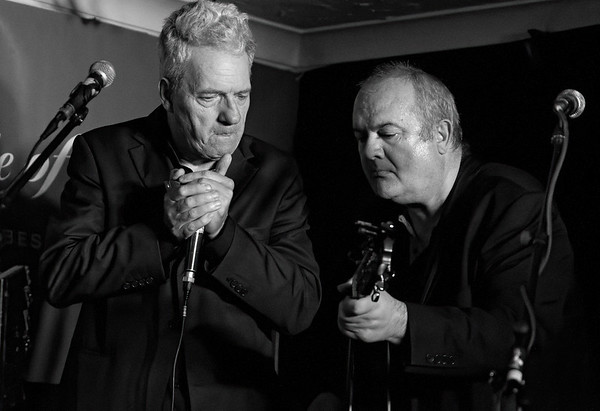 David Raphael & Nick Hyde are The sepia Swing Show Twins