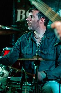 Alex Bridge with the Troy Redfern Band