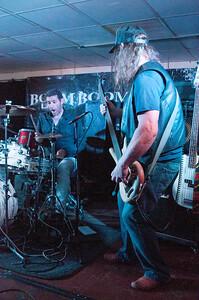 Stuart McDonald & Alex Bridge with the Troy Redfern Band