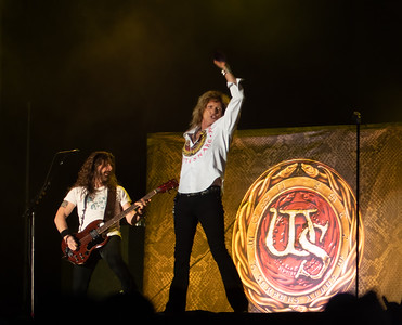Michael Devin with David Coverdale