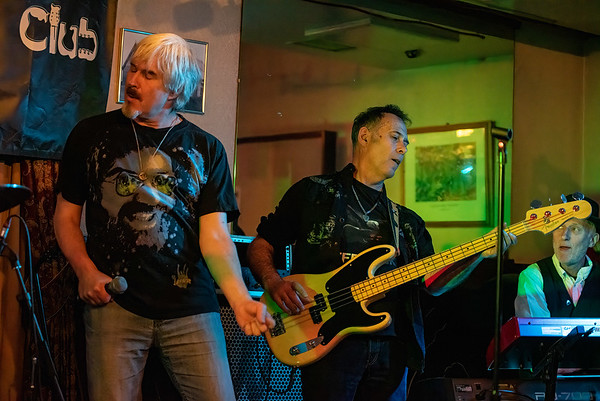 Stuart Maxwell with Derek White