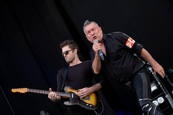 Ben Rodgers with Jimmy Barnes