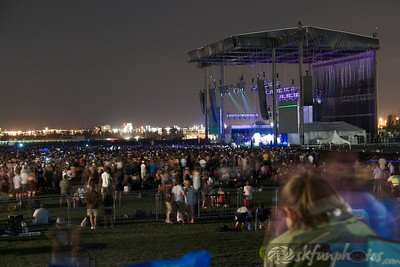 Main Stage during Jack Johnson's set