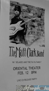 Matt Clark Band, Oriental, Denver