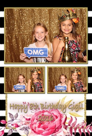 Gigi's 8th Birthday