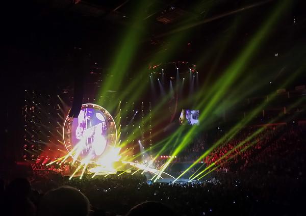 2015-01-14 London, O2, Queen & Adam Lambert