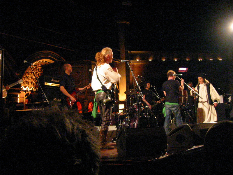 The Levellers (played by the Levellers)