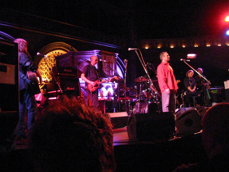 John Lilburne (Rev Hammer) and the band