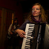 "Lizzie Lou Gaisford on the accordion!   <a href = ""https://www.facebook.com/thefishwives"" target = ""_blank"">Fishwives</a>."