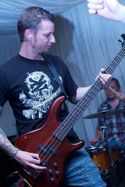 "Mark Bates playing bass for <a href=""https://www.facebook.com/pages/Those-Days-Are-Gone/137903686377657/"">Those Days are Gone</a>."