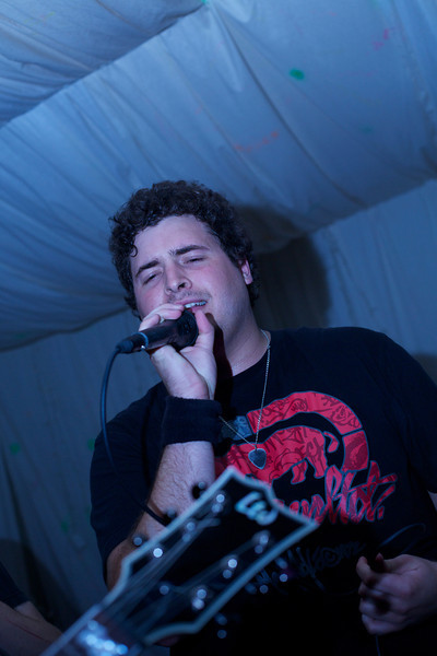 """Gareth Norval on vocals for <a href=""""https://www.facebook.com/forgetthefall/"""">Forget the Fall</a>."""