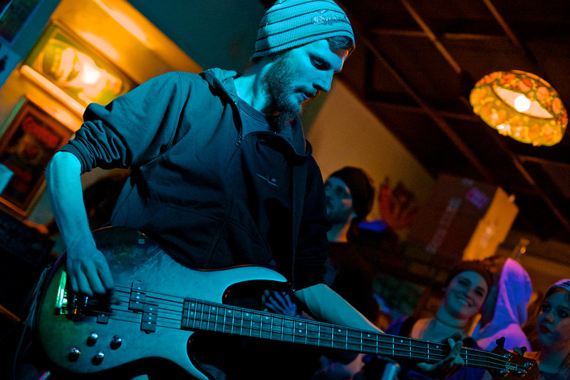 "Craig Albers playing bass for <a href=""https://www.facebook.com/gentlemencallershc"" target=""_blank"">Gentlemen Callers</a>."