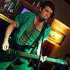 David Glover on the guitar for Shackles & Bones