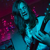 Steven Ellery playing bass for Shackles & Bones