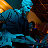 Craig Albers playing bass for Gentleman Callers