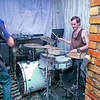 "Jason Brits on the drums for <a href=""https://www.facebook.com/TDSMBband"" target=""_blank"">The Devil Sent Me Back.</a>"