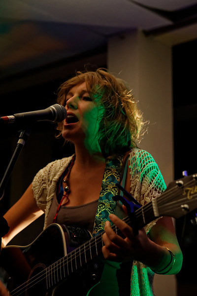 """Lizzie, truly singing her heart out... and maybe her tonsils :-)    <a href=""""https://www.facebook.com/thefishwives"""" target=""""_blank"""">The Fishwives</a>"""