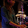 "Nicole on the keyboard for <a href=""https://www.facebook.com/thefishwives"" target=""_blank"">The Fishwives.</a>"