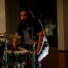 """Waiting in between songs....  Strato, drummer for <a href=""""https://www.facebook.com/thefishwives"""" target=""""_blank"""">The Fishwives.</a>"""