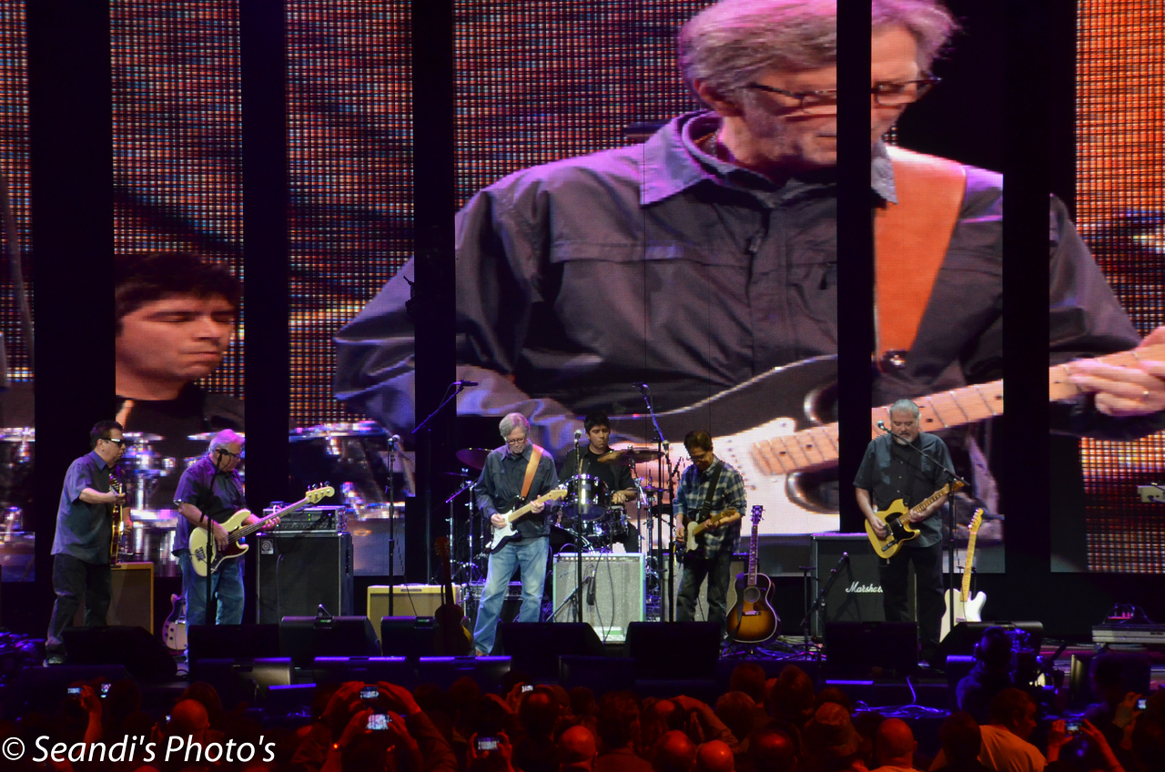 Los Lobos with Eric Clapton