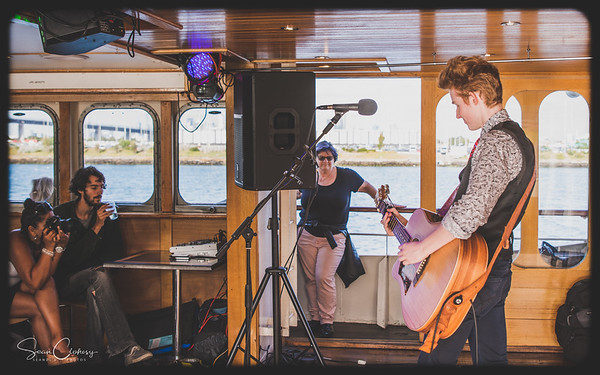 Charlie Bedford @ Melbourne Blues Cruise (on the Lady Cutler): Feb 11th