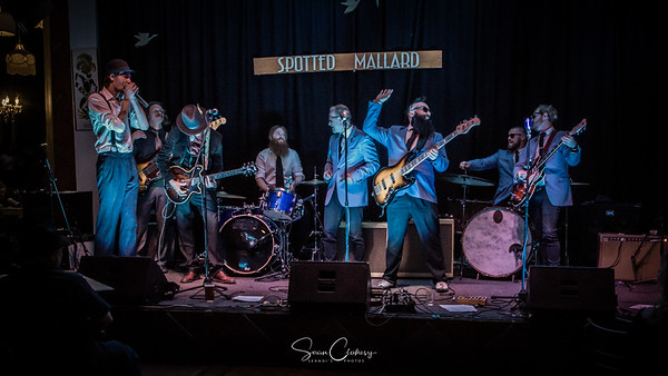 Electric Blues Collective & Catfish Voodoo @ The Spotted Mallard: Sep 27th