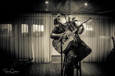 LLoyd Spiegel @ Melbourne Blues Cruise (on the Lady Cutler): Feb 11th