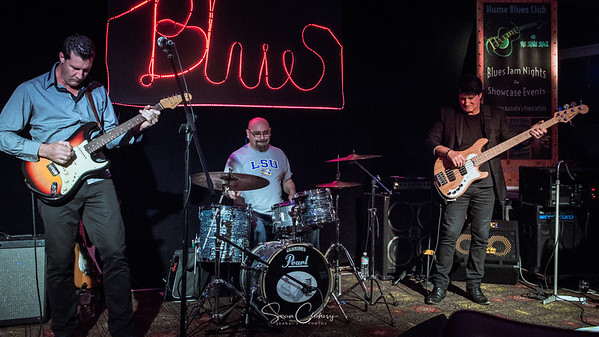 The Darren Jack Band @ Hume Blues Club: Sep 20th