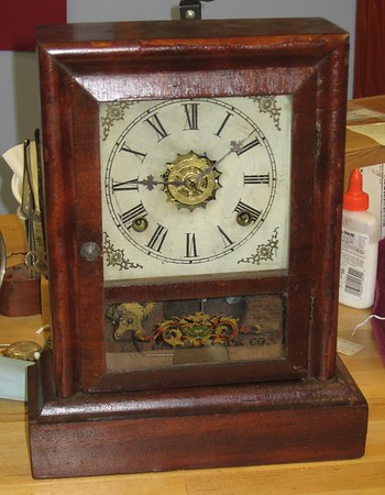 Gilbert 8-Day Cottage Clock