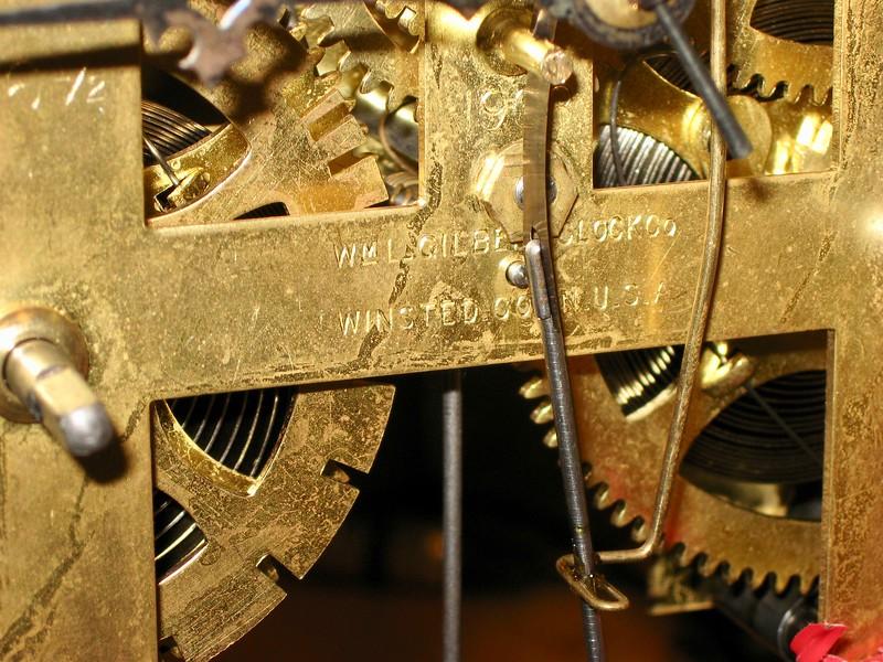 WM L. GILBERT CLOCK Co., WINSTED, CONN. U.S.A.