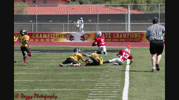 Gilbert Dawgs Cadet Silver Fall 2011 Picture Slideshow PART 2