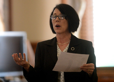 Tania Barricklo-Daily Freeman                      Orange County Prosecutor Maryellen Albanese.