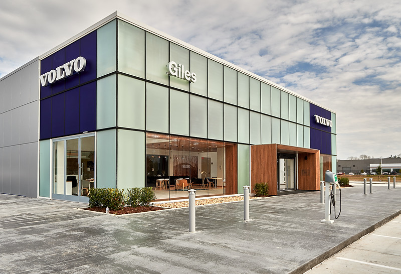 New Giles Volvo Dealership