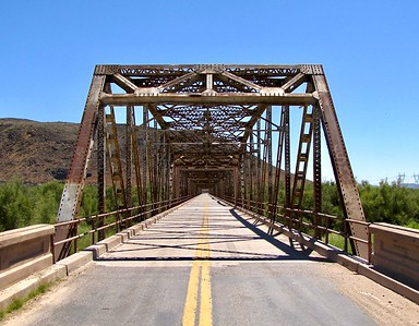 Gillespie Bridge on Old Highway 80 (2010)