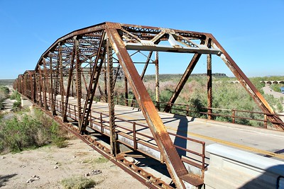 Gillespie Bridge on Old Highway 80 (2018)