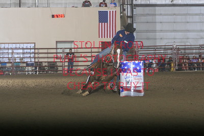 sat 5. 1st Go BFA Futurity 2nd barrel