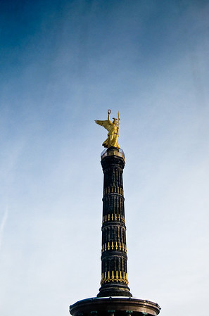 Siegessäule Victory Column Berlin Germany